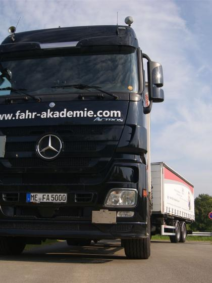Unser Mercedes Actros